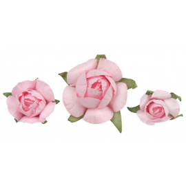 Confettis fleurettes roses