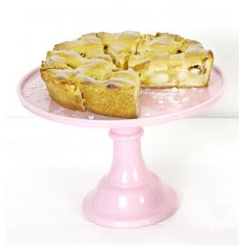 Cakestand céramique rose GM