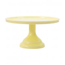 Cakestand céramique jaune