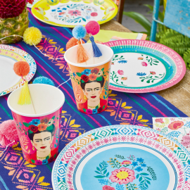 Assiettes boho colors