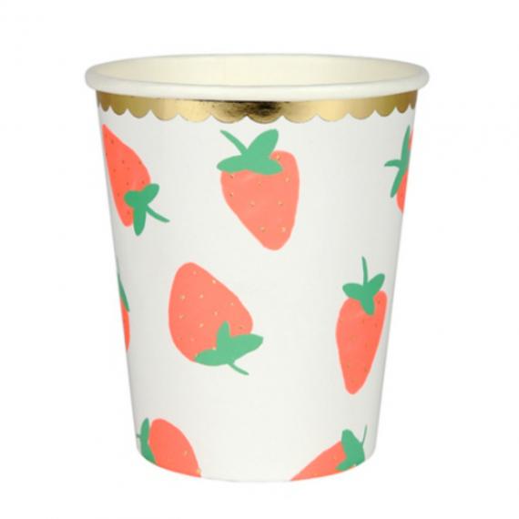 Gobelets fraises