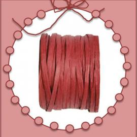 bobine raphia papier rouge bordeaux