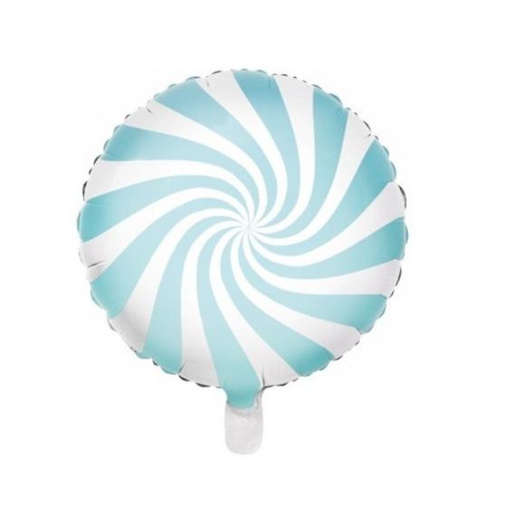 Ballon mylar bonbon bleu