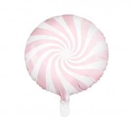 Ballon mylar bonbon rose