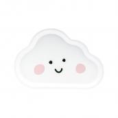 Assiettes nuage blanc