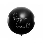 Ballon géant révélation confettis fille