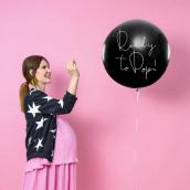 Ballon géant révélation confettis garçon