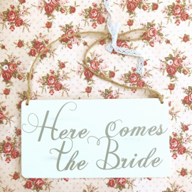 Pancarte mariée