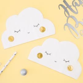 Serviettes petit nuage