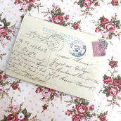 Carnet mariage vintage