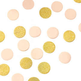 Confettis mix party rose so chic